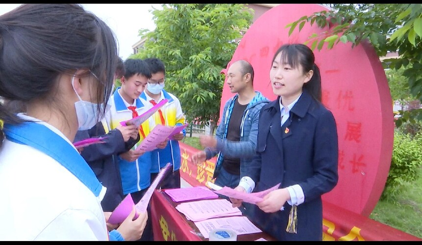 安徽利辛县大力推动全社会节水行动