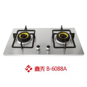 鑫秀B-6088A无指纹不锈钢燃气灶