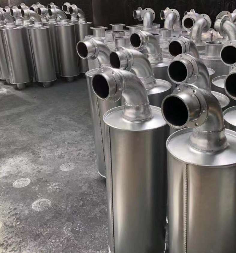 杭州柴油发电机组消声器