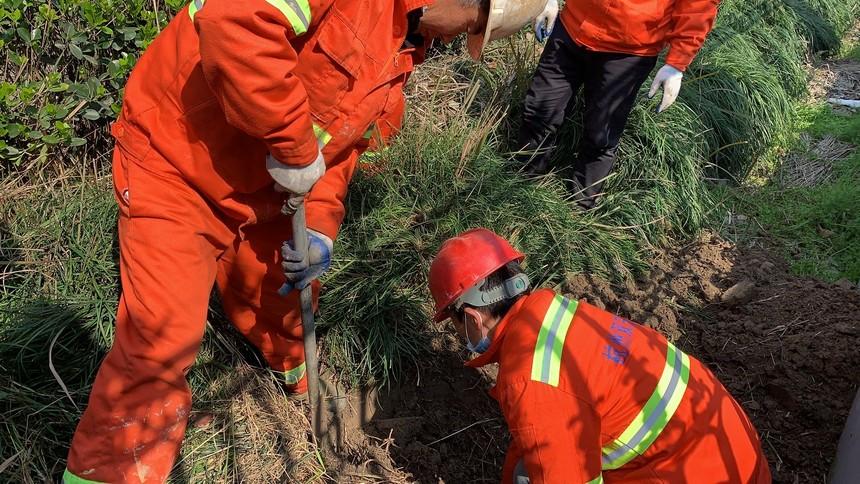 杭州市某区某街道污水管道检测定位工程案例