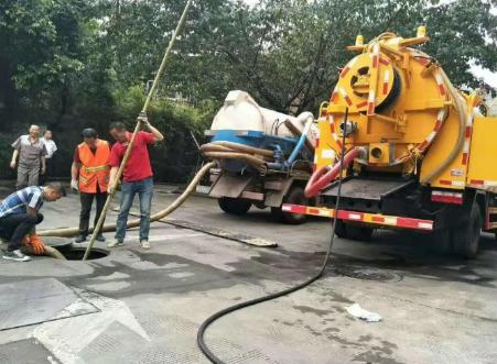 城市雨污水管道清淤