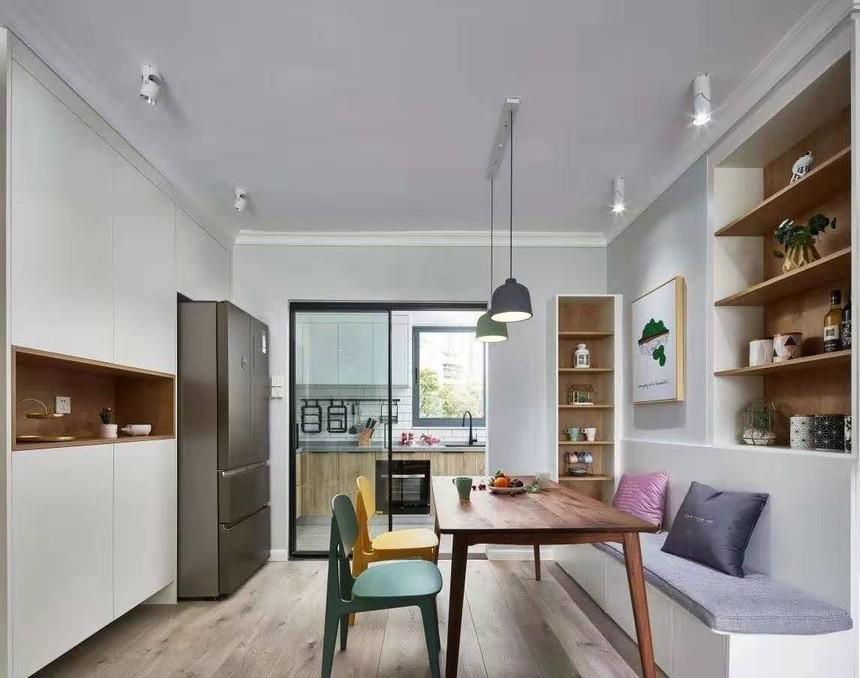杭州下城区115㎡北欧风格装修效果图——厨房装修设计