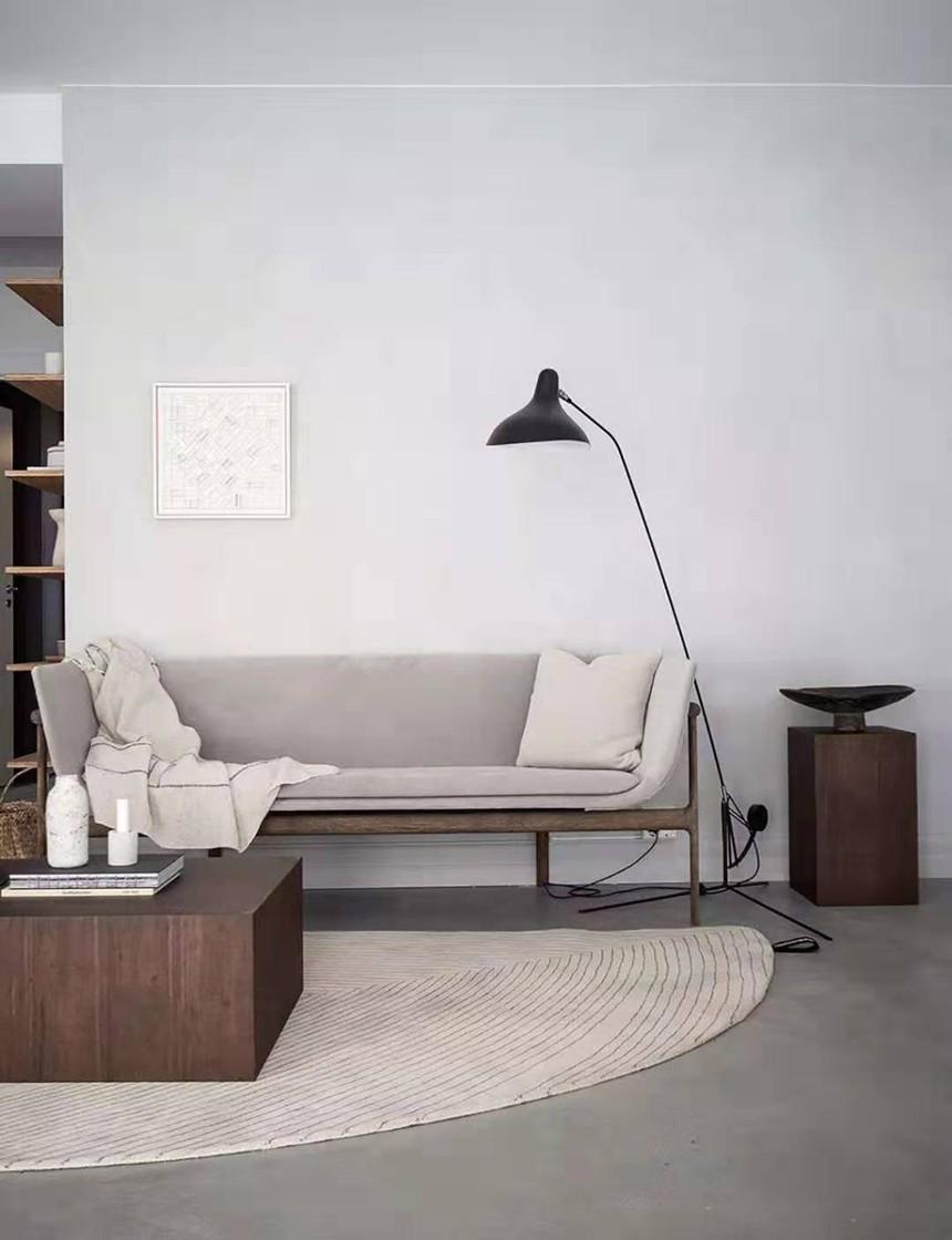 杭州市淳安县120㎡北欧小清新风格装修效果图——客厅装修设计