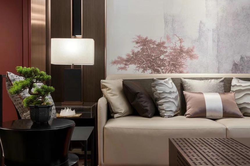 杭州上城区210㎡中式风格装修效果图