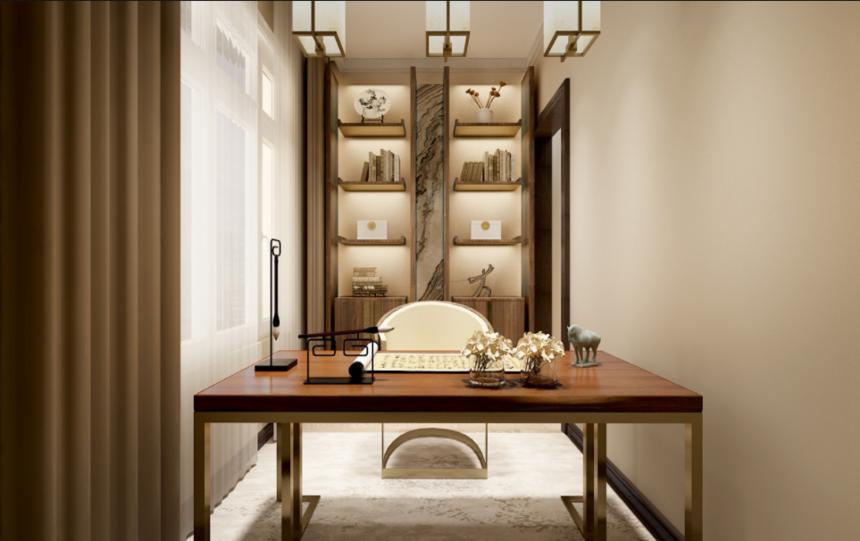 杭州书房装修的基本风格