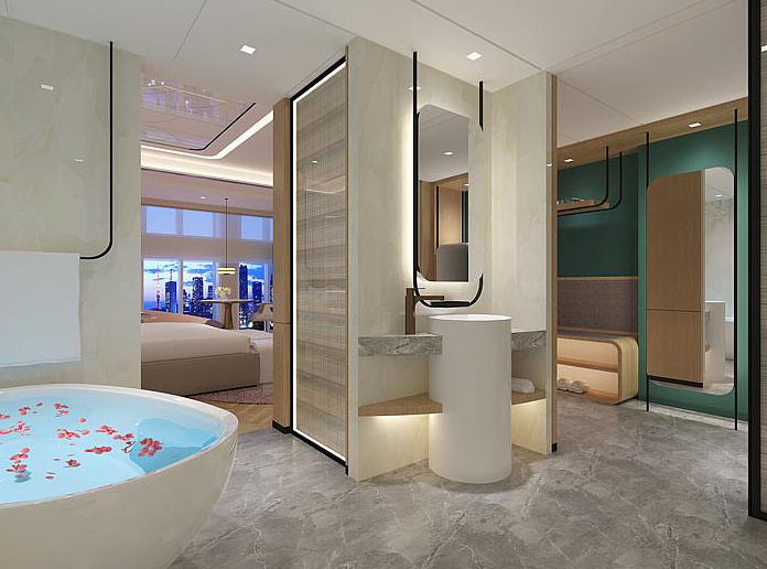 杭州商务型酒店装修