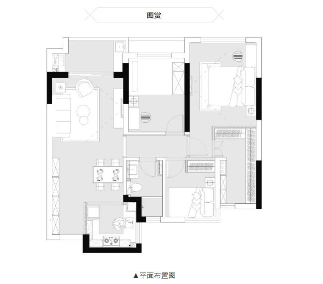 杭州装修公司平面设计图