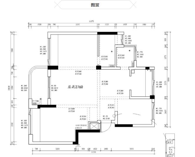 杭州装修公司原始设计图