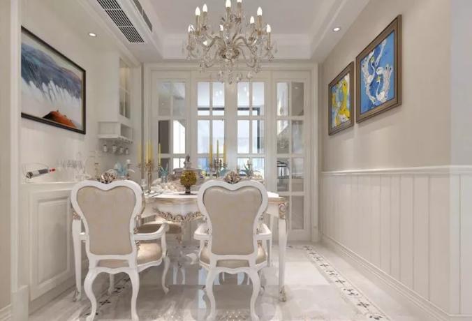 130m2三居室装修案例价格预计只需11万元