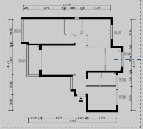 【杭州装修公司案例】150平米现代轻奢装修风格设计图