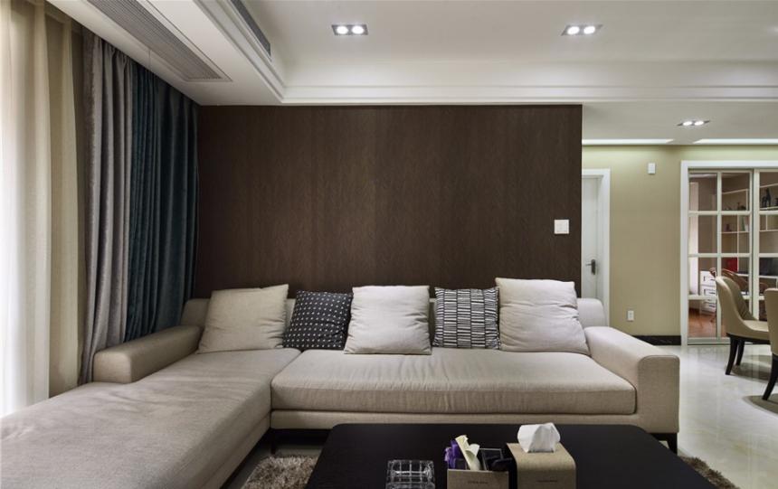 杭州装修公司设计案例_客厅沙发