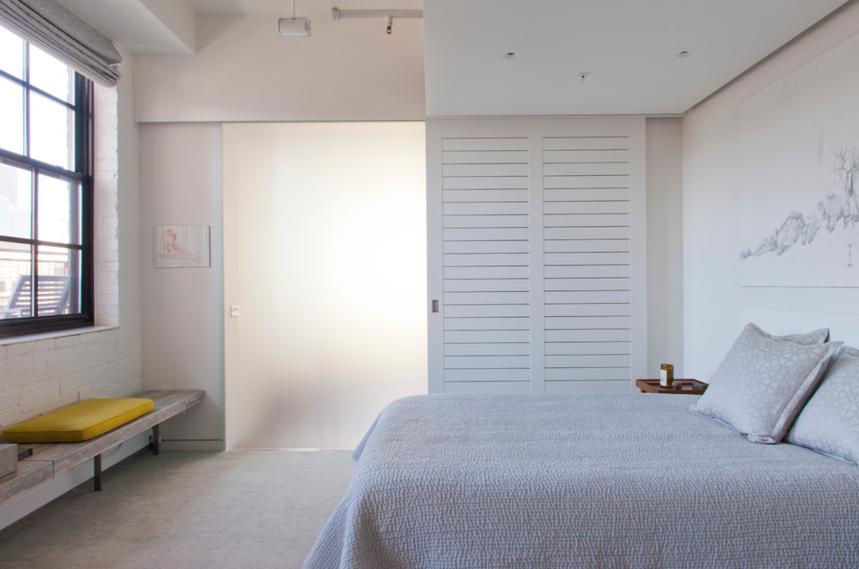 杭州装修公司2室1卫1厅110平米现代简约风格_次卧