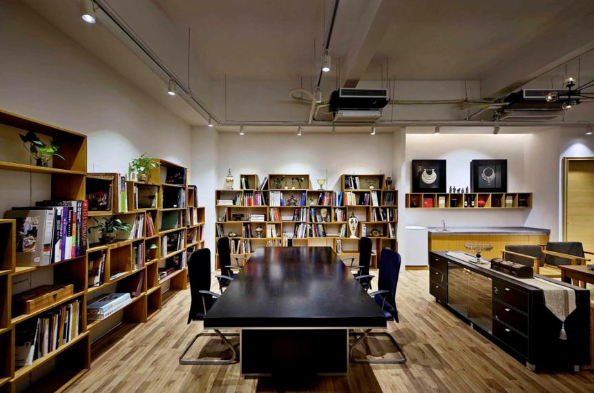 杭州装修公司混搭风格办公室装修效果图