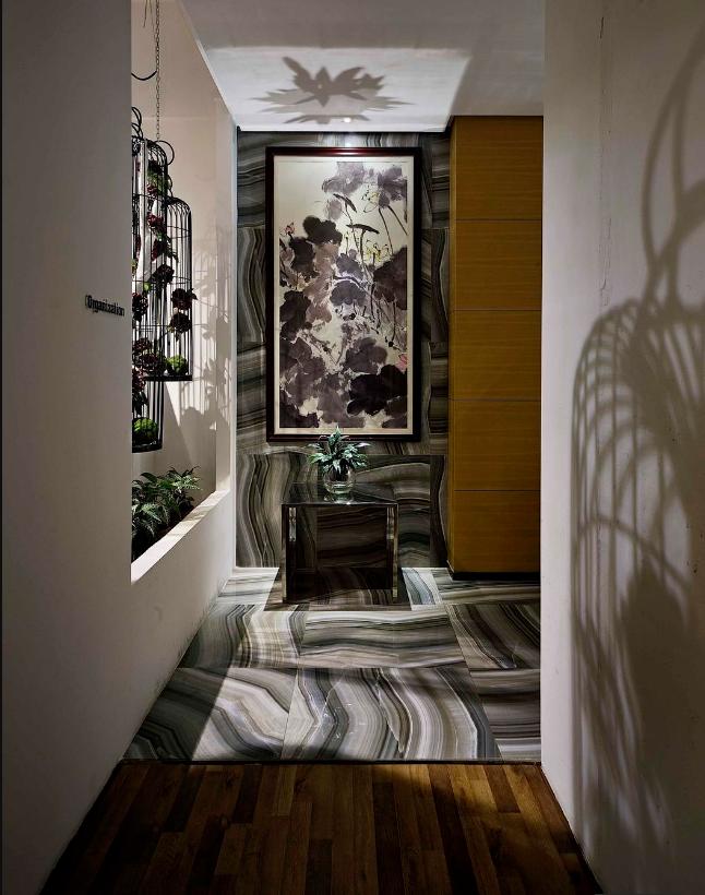 混搭风格办公室走廊装修效果图