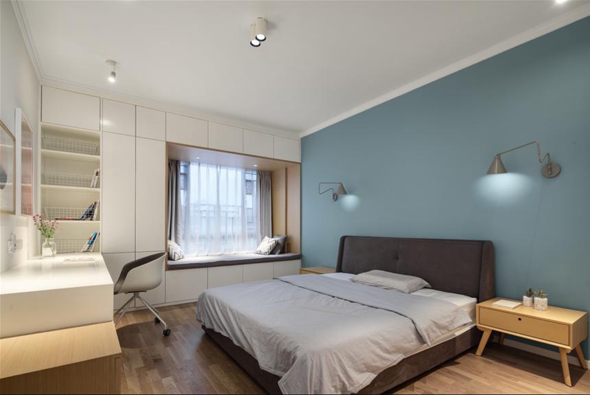 190平复式北欧卧室装修效果图