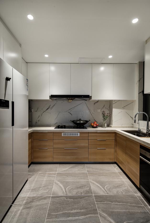 190平复式北欧厨房装修效果图