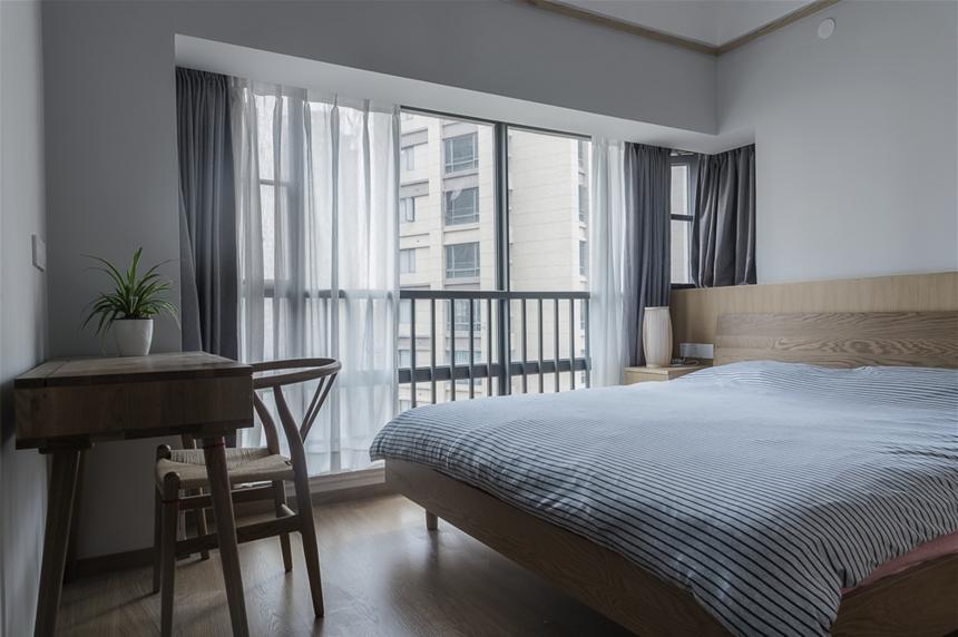 日式风格两居客卧室装修效果图