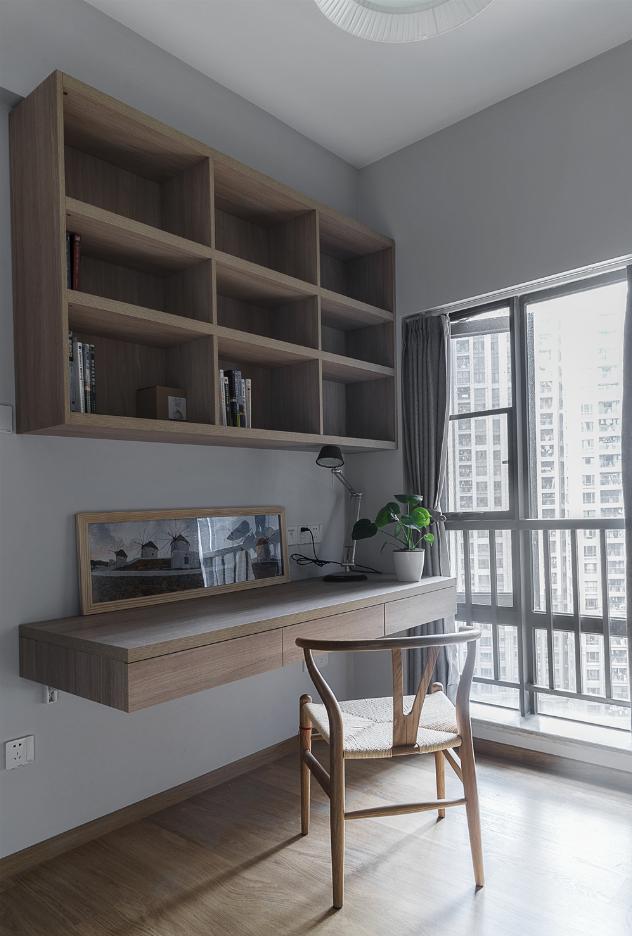 日式风格两居书房装修效果图