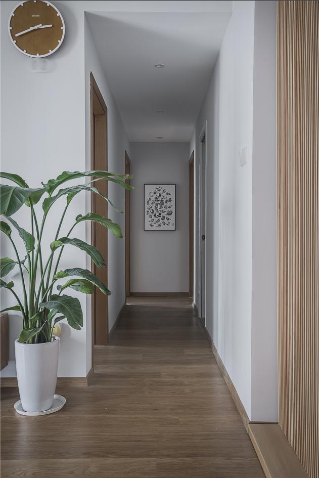 日式风格两居走廊装修效果图