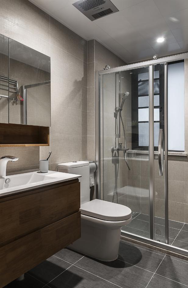日式风格两居卫生间装修效果图