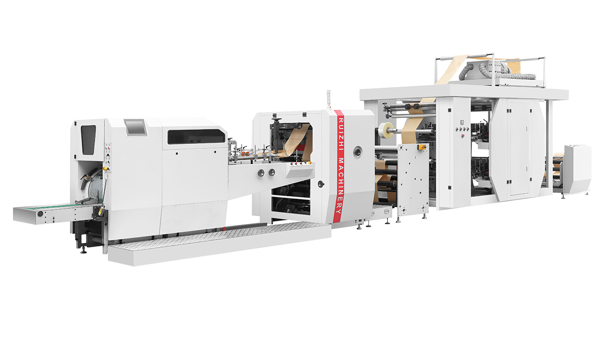 Full automatic high speed paper bag machine