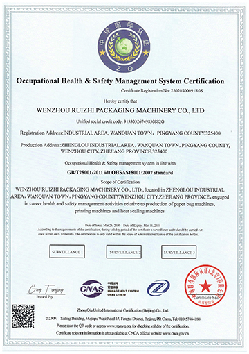 occupational helth&safety management system c