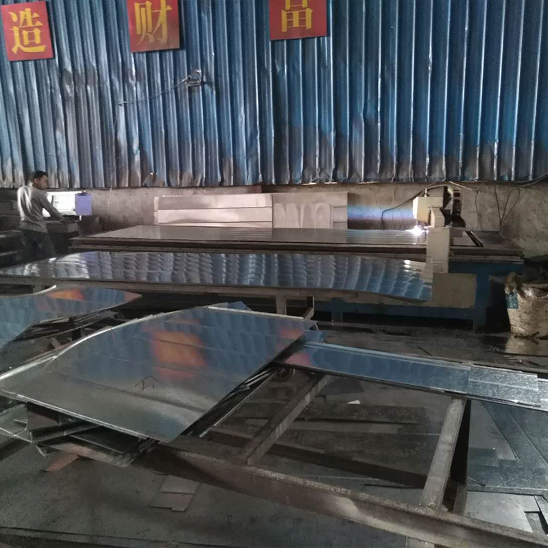 通风管材料切割