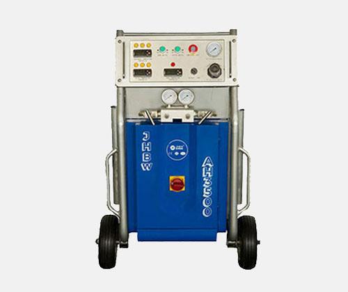 高配海洋浮球填充聚氨酯高压发泡喷涂机价格