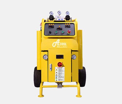 高配海洋浮球填充小型聚氨酯高压喷涂机得多少钱
