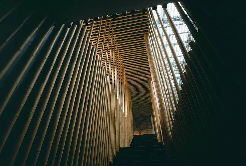 竹建築,竹屋