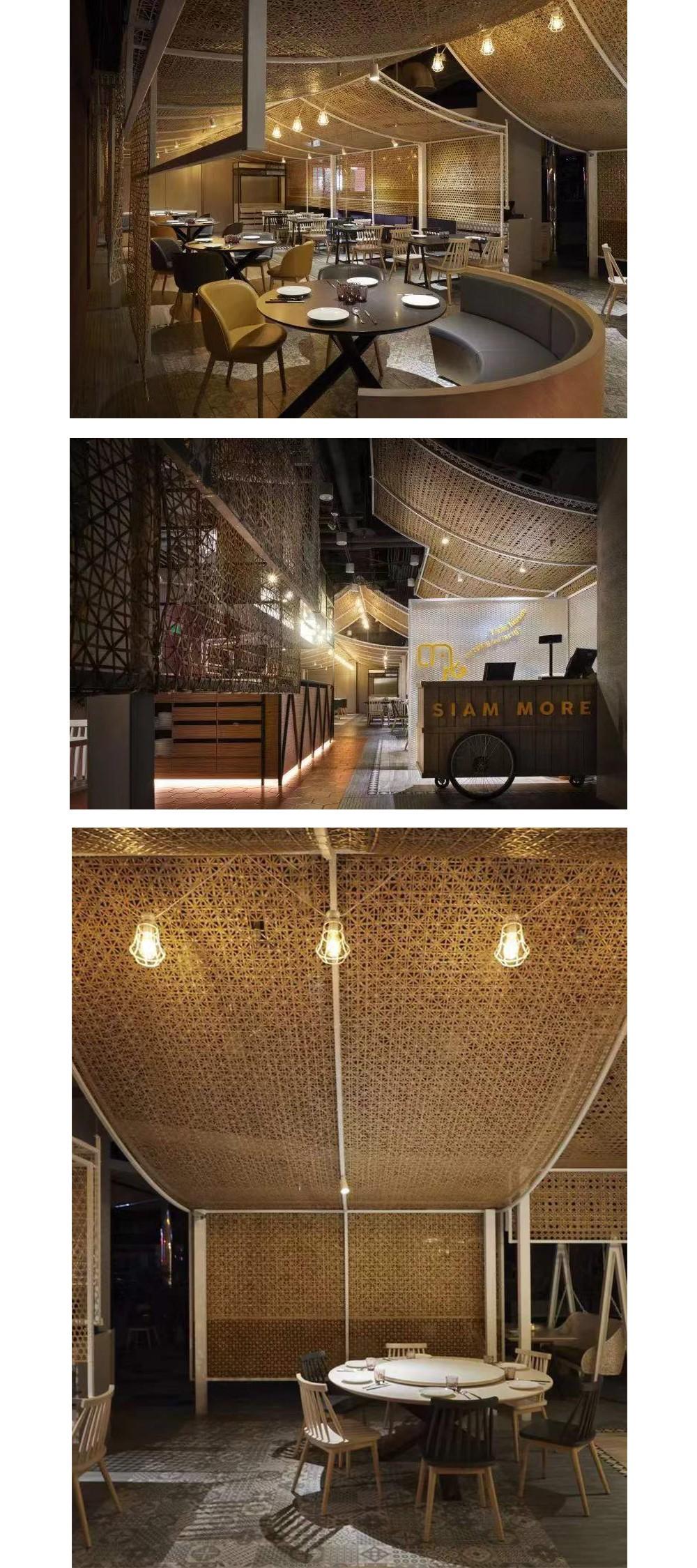 竹编织,竹装饰