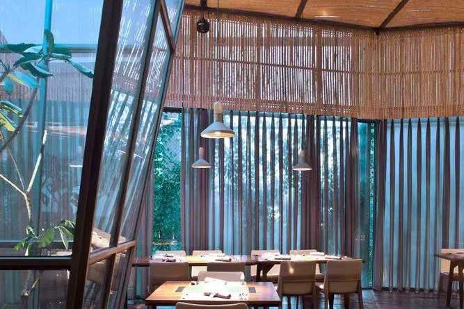 【竹装饰】肴约餐厅