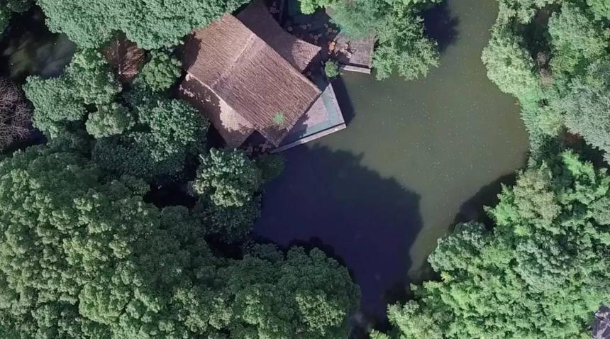 【竹景觀工程案例效果圖】——上海鬆江方塔園.何陋軒