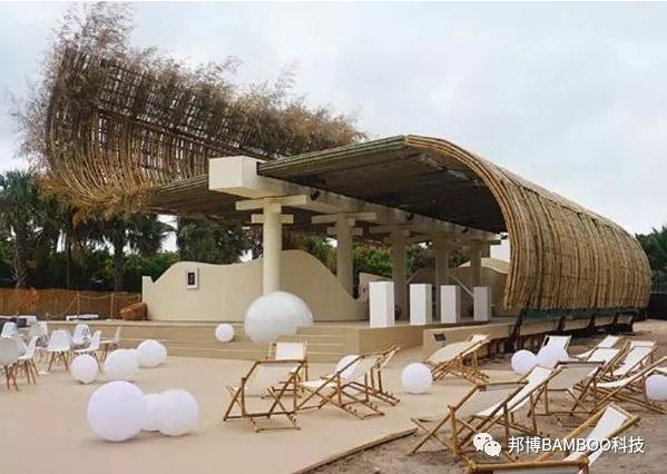 原竹建筑案例效果图——越南山萝圆顶礼堂