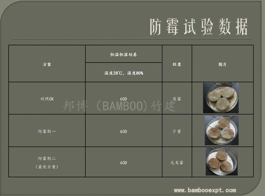 原竹防虫防霉处理工艺