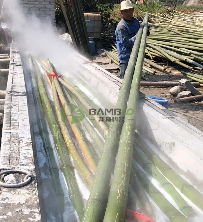 原竹脱糖处理