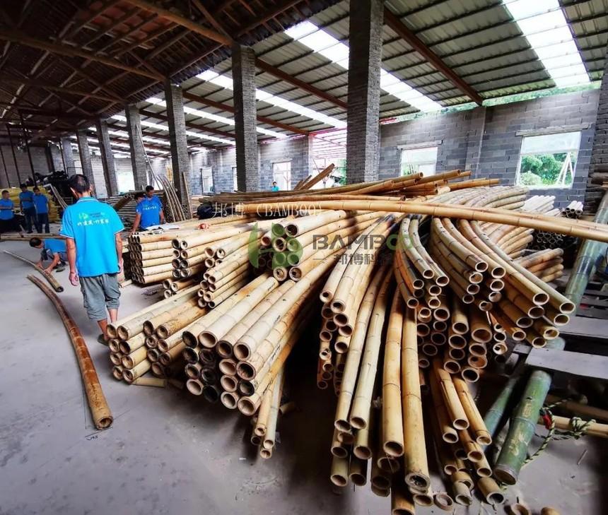 原竹表面抛光处理工艺