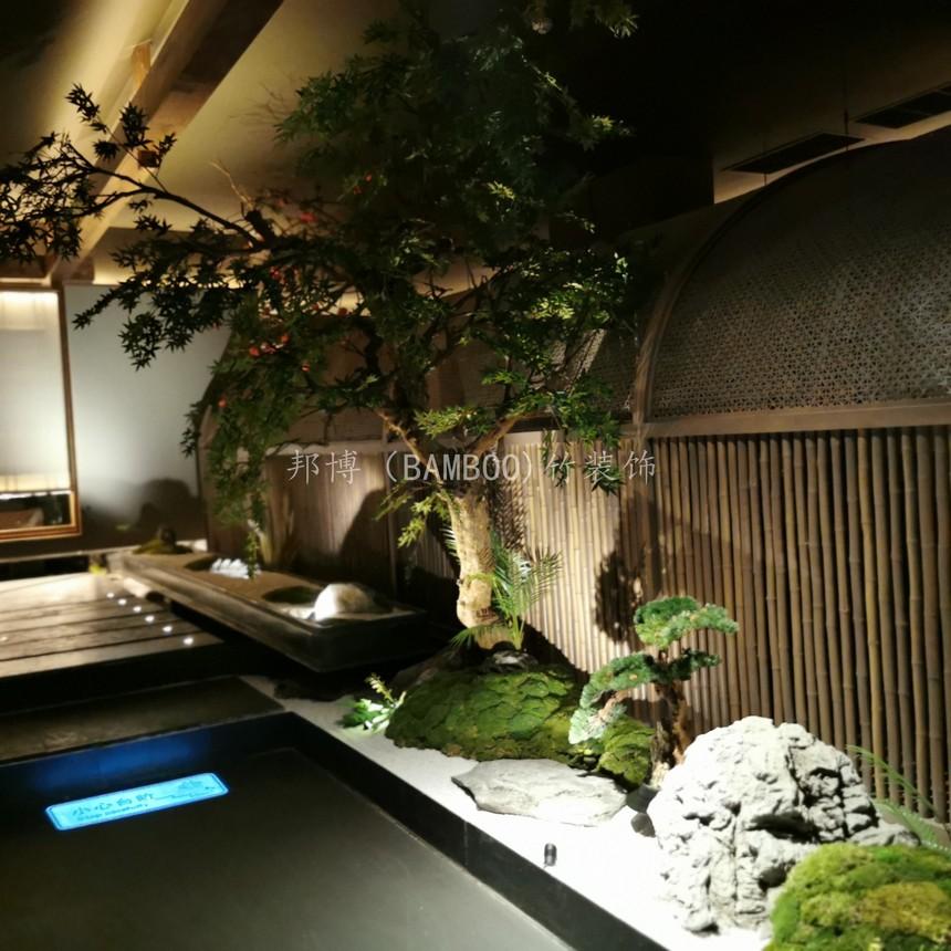异形竹编织造型