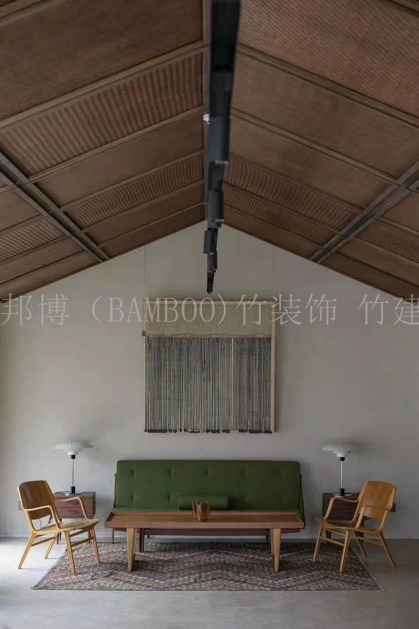竹编织装饰
