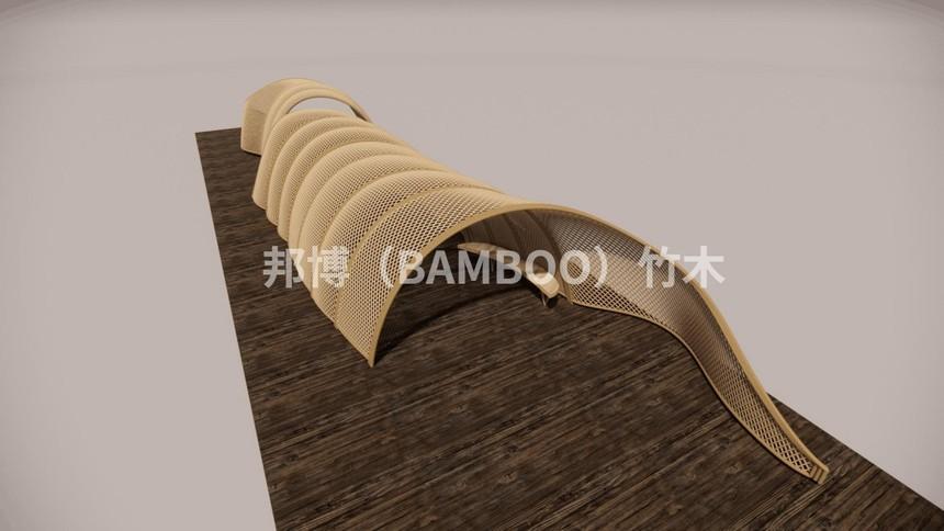 竹构艺术长廊