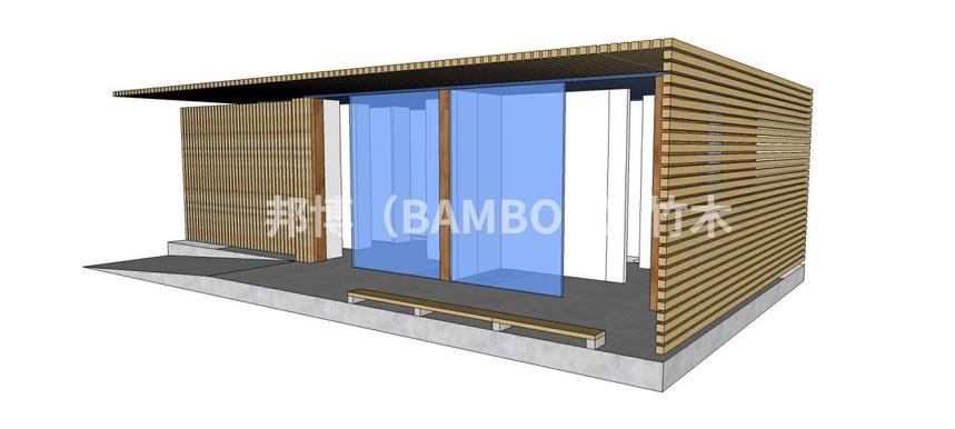 竹构艺术装置
