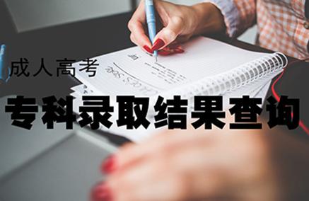 2019江苏成考高起专录取查询已开通