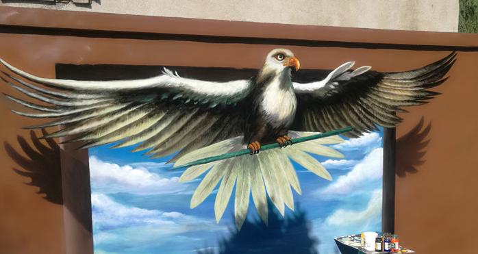 南昌墙绘公司-德艺壁画
