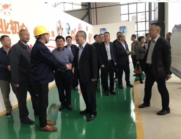 杭州市西湖区领导与埃柯赛技术负责人见面