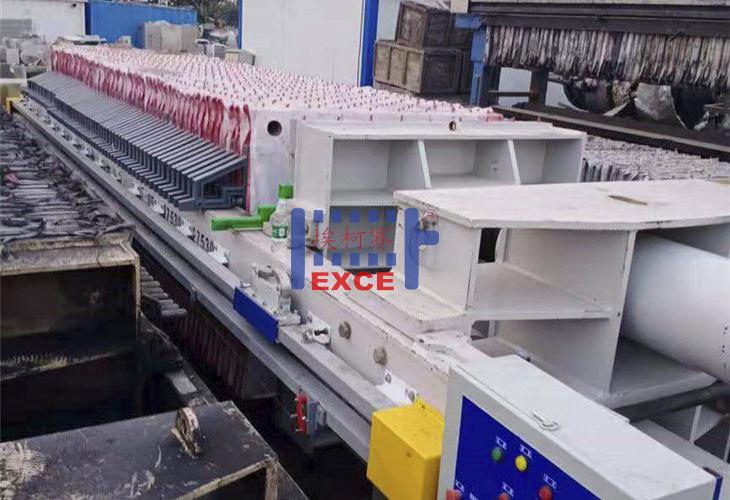 厢式自动接液反板压滤机
