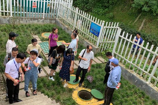 村镇联盟专家参观考察正清环保柯桥村镇污水标准化运维项目