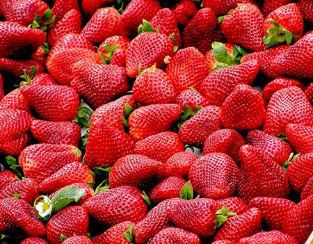 吃草莓的好處