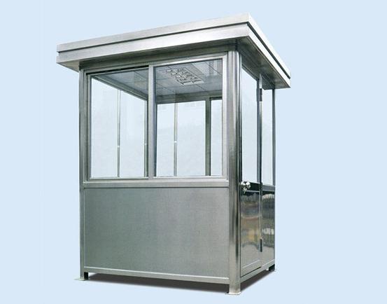 为什么岗亭框架大多使用镀锌板材质?
