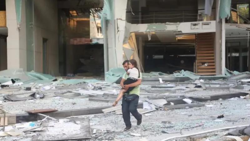 已致78人死亡4000多人受伤!黎巴嫩首都发生巨大爆炸