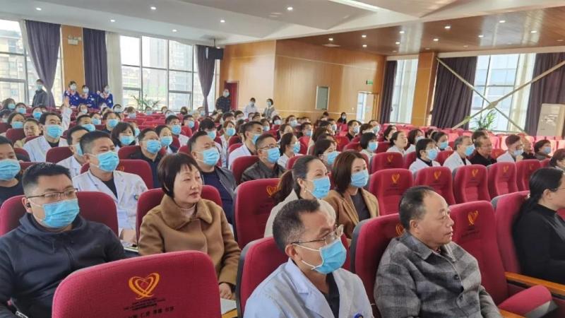 汉中市口腔医院职工积极参加胡书孝教授专题讲座